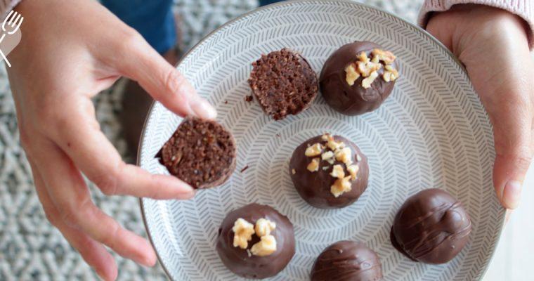 Bombones de Brownie